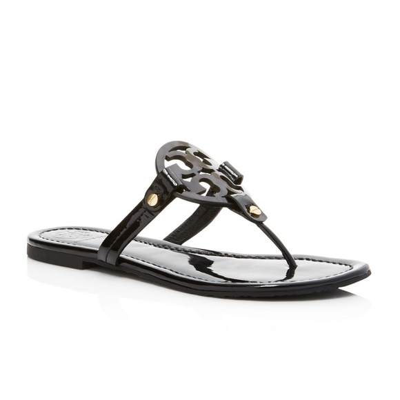 bb048493e68afc Tory Burch Women s Miller Patent Leather Sandals